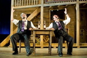 The Gershwin musical Crazy for You starred Sean Palmer and David Burt in 2011. Designed by Peter McKintosh and directed by Timothy Sheader, it transferred to the West End