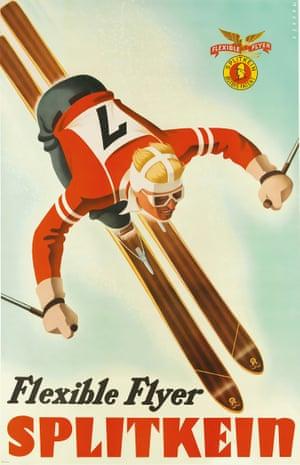 Flexible Flyer / Splitkein, c 1935, by Sascha Maurer