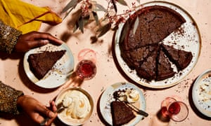 Thomasina Miers' chestnut and chocolate cake with chestnut cream