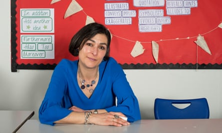 Secondary school teacher Isabelle Zahar at Kensington Aldridge Academy