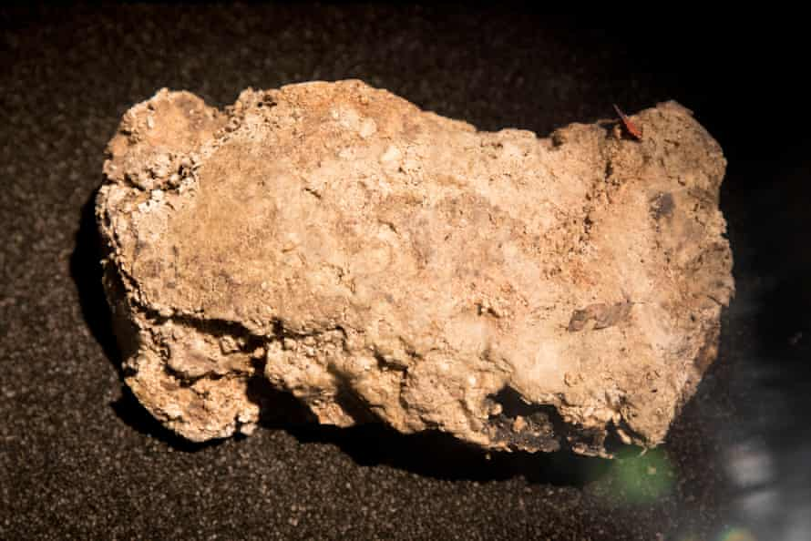 The Museum of London's fatberg