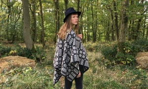 For a few dollars more: adult poncho from £255, thewelshgirl.com.