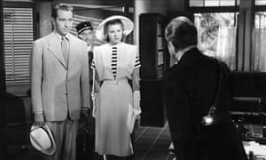 A scene from 1942's Casablanca … 'It was only after Pearl Harbor that Hollywood found its soul.'