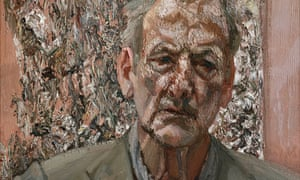 Self Portrait (detail), 2002, by Lucian Freud.