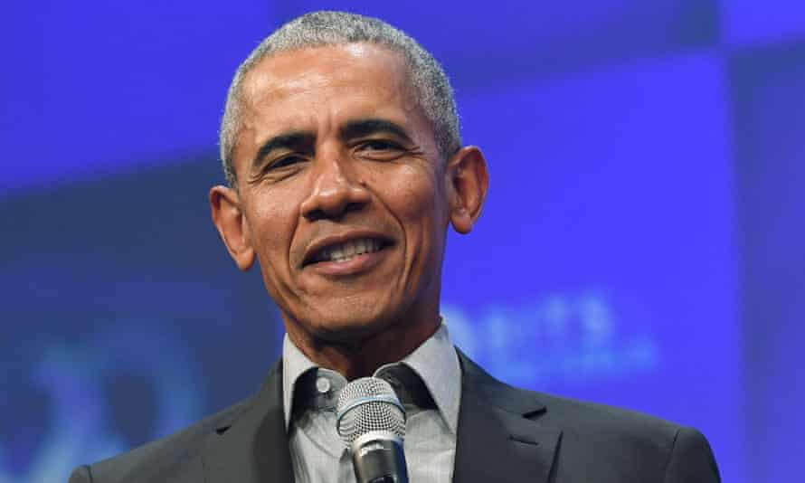 Barack Obama on 29 September 2019.