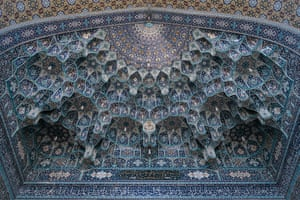 The Shrine of Fatima Masumeh in Qom is one of the most important religious sites in Iran. The shrine was built on the tomb of Fatima who died in the 9th century but has been embellished and altered over the centuries.