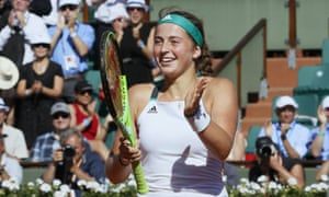 Jelena Ostapenko is the first unseeded woman to reach the French Open final since 1983.