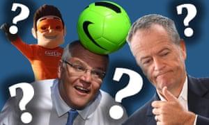 Australian election composite