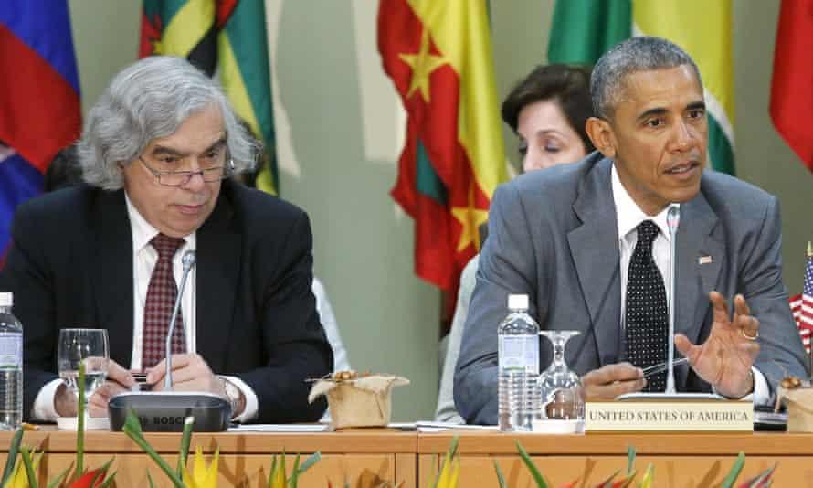 Ernest Moniz served as energy secretary under Barack Obama.