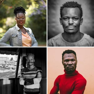 """The photographers Atieno Muyuyi Muyuyi teaches photography at the Uweza Foundation. One of only a few female Kenyan photographers, she focuses on women's rights. Brian Otieno Otieno documents everyday life through his project Kibera Stories, winning the East African Photography Award in 2018 with """"Ballerina Elsie"""". Kelvin Juma Juma captures individuals and community, placing emphasis on resilience and hard work, aiming to create honour and not pity for its residents.Anwar Sadat Swaka Swaka's focus is on those who inspire others to progress, working for a better future."""