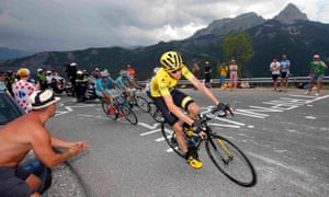 Chris Froome has suffered abuse during the Tour de France from some supporters.