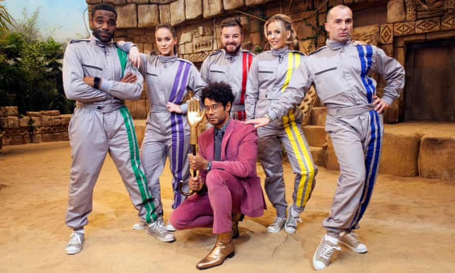 A throwback to a more experimental era … the new Crystal Maze.