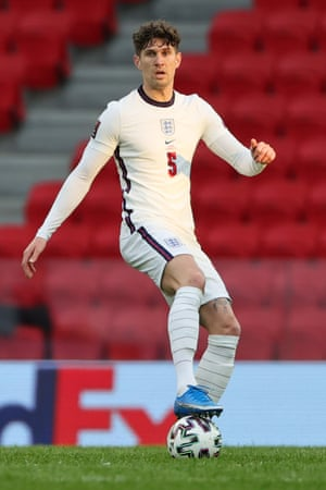 John Stones of England on the ball