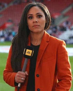 The BBC's Alex Scott.