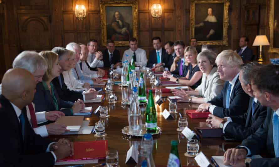 Tory cabinet
