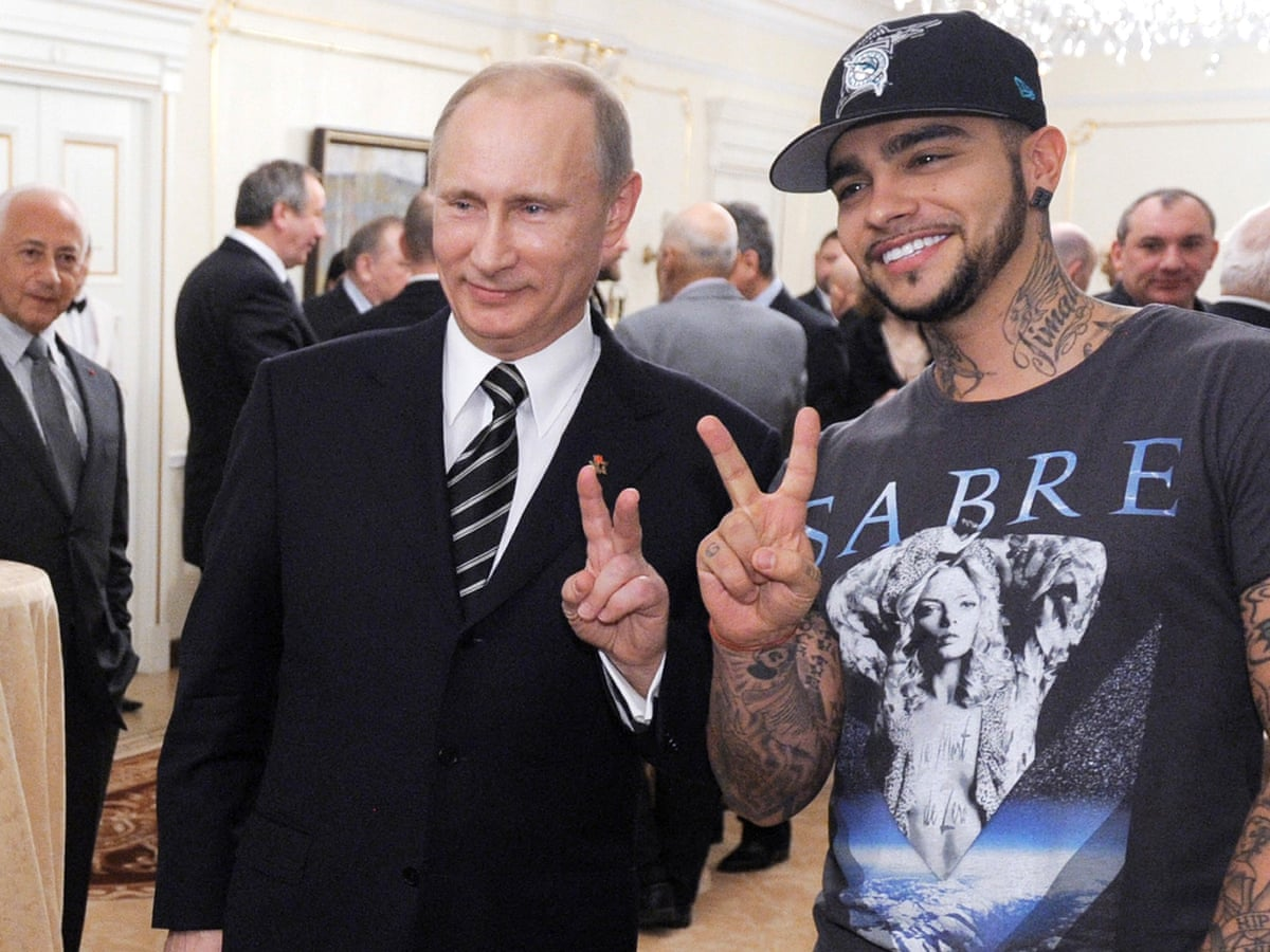 Pro Putin Rapper Sets Record For Unpopularity On Russian Youtube Russia The Guardian