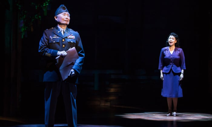 So many people don't know this chapter of American history :   George Takei, Star Trek actor debuts on Broadway in Allegiance