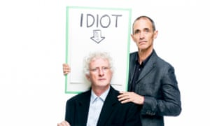 Andy Griffiths and Terry Denton, authors of The 52-Storey Treehouse.