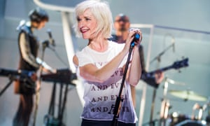 Jane Horrocks performing in If You Kiss Me, Kiss Me, at the Young Vic.