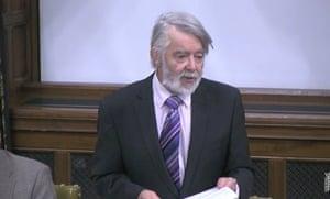 Paul Flynn speaking in Westminster Hall