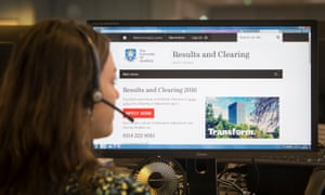 Clearing can be part of the drawn-out process of achieving a university place.
