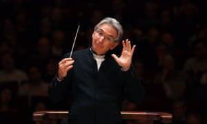 Michael Tilson Thomas leading the San Francisco Symphony.