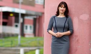Rachel Reeves in her Leeds West constituency