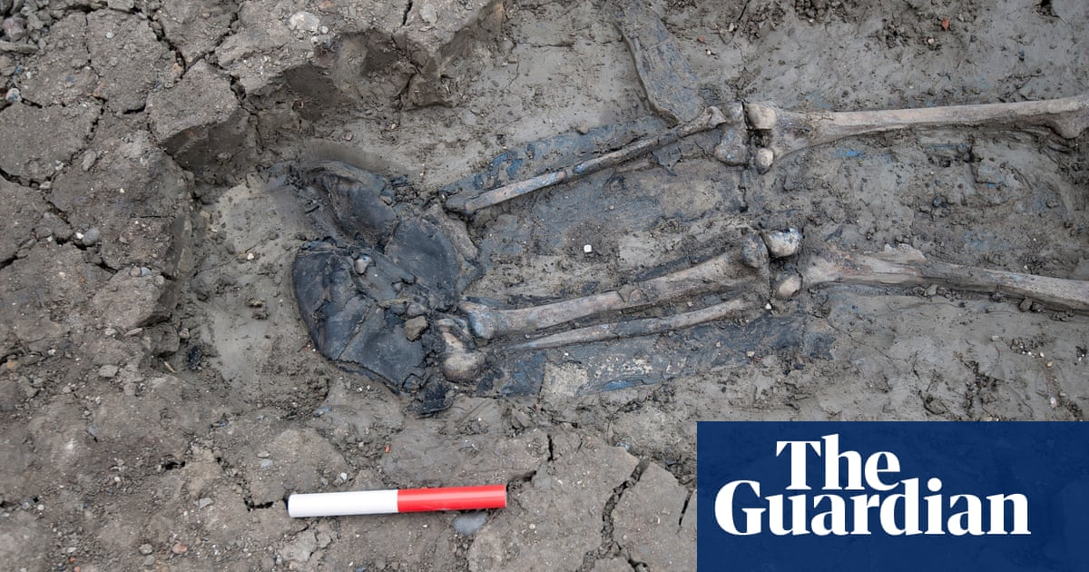 Tough as old boots: a Thames skeleton's durable footwear