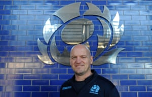 I love watching, playing and learning from it': Gregor Townsend on