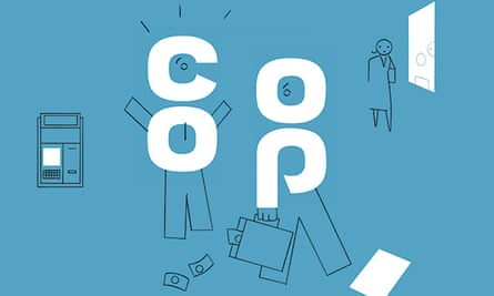 Laurent Cilluffo illustration for Co-Op Bank for Money