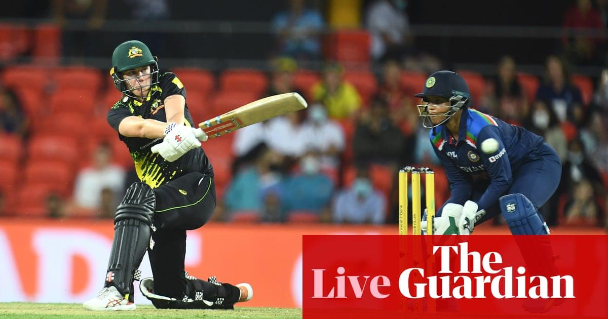 Australia beat India in second women's T20 international – as it happened