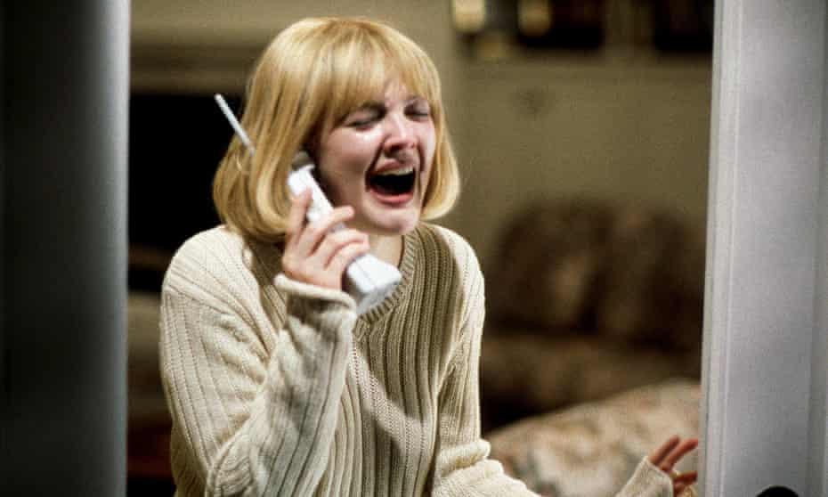 Drew Barrymore in Scream.