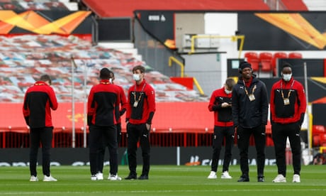 Manchester United v Milan, Slavia Prague v Rangers: Europa League clockwatch – live!