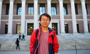 Harvard senior Thang Diep was born in Vietnam but immigrated to the US as a child. His SAT scores were below Harvard's average, but he still impressed interviewers.