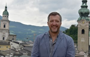 'This place is the capital of bells!' … Adès in Salzburg.