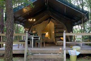 Les Ormes, France. Cool Camping, France.