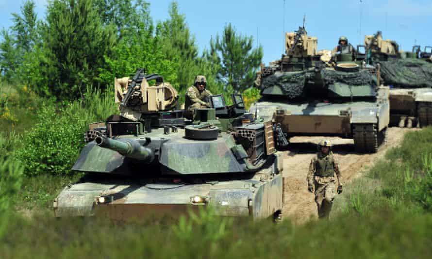 Preparations for Anaconda-2016 take place in Drawsko Pomorskie, north-western Poland.