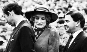 Prince Charles and Princess Diana, 18 November 1983