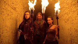 Lacklustre … MTV's The Shannara Chronicles.