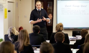 A PSHE lesson at a school in Oldham.