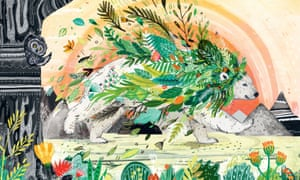 Illustration from Leaf by Sandra Dieckmann