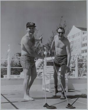 Eric and Ernie in Bermuda