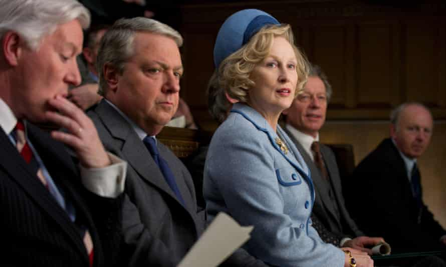 The Iron Lady: John Sessions as Edward Heath with Meryl Streep