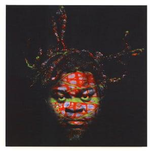 'Self Portrait (after Warhol) 6, 2013, Yinka Shonibare.