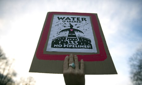 Revealed: FBI terrorism taskforce investigating Standing Rock activists