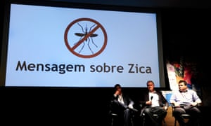 Health officials from Rio de Janeiro address the media about the Zika outbreak, which they said they were confident would be cleared up by the time of the Olympic Games in the city in August.