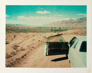 Valley of the Gods, Utah, 1977, by Wim Wenders.
