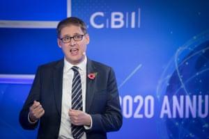 Tony Danker took over from Dame Carolyn Fairbairn as Director General of the CBI on November 30, 2020.