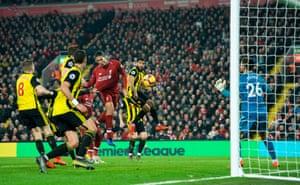 Van Dijk comes home, 4-0 to Liverpool.