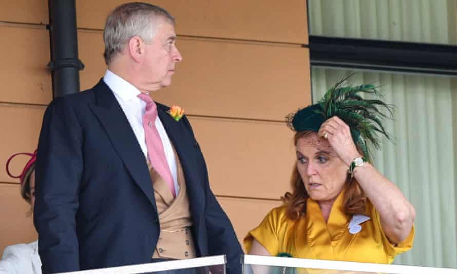 Prince Andrew and his former wife, Sarah Ferguson, at Royal Ascot this year.